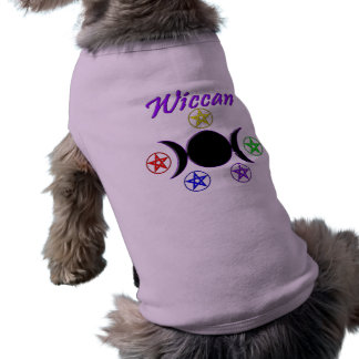 Wiccan Doggie T Shirt