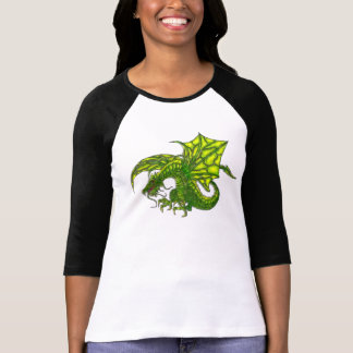 Wiccan Dragon 2 Pagan Graphic T-Shirt