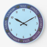 Wiccan Holiday Clock