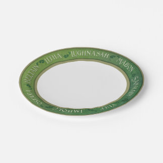 Wiccan Holiday Paper Plates