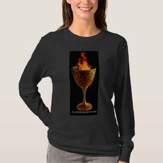 Wiccan Life Chalice (dark) T-Shirt