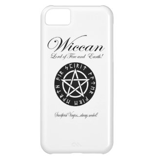 Wiccan Lord of Fire and Earth! Cover For iPhone 5C