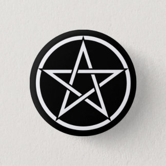 Wiccan & Magick Pentagram Pentacle - M1 Button