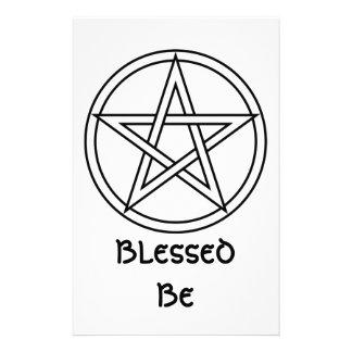 Wiccan & Magick Pentagram Pentacle - M1 Papelería Personalizada