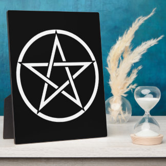 Wiccan & Magick Pentagram Pentacle - M1 Plaque