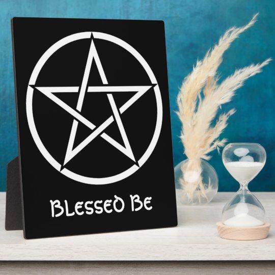 Wiccan & Magick Pentagram Pentacle - M1 Plaque