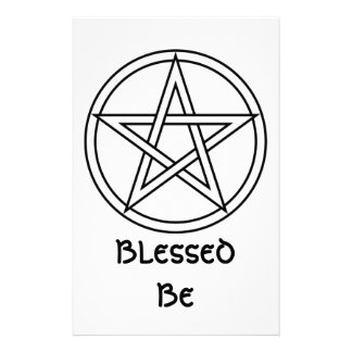 Wiccan & Magick Pentagram Pentacle - M1 Stationery