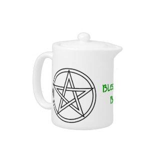 Wiccan & Magick Pentagram Pentacle - M1 Teapot