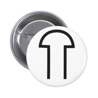 Wiccan Male Symbol Pinback Button