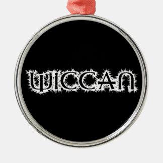 Wiccan Metal Ornament