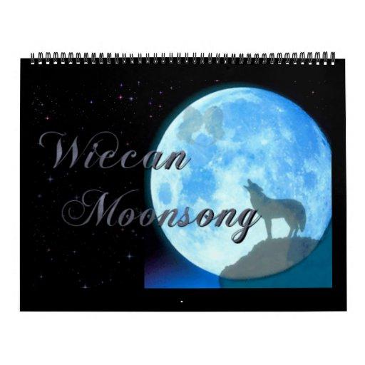 Wiccan Moonsong 2014 Calendar