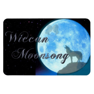 Wiccan Moonsong Magnet