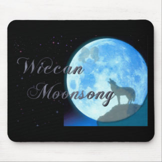 Wiccan Moonsong Mouse Pad
