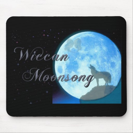 Wiccan Moonsong Mousepads