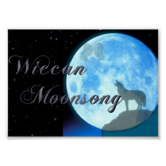 Wiccan Moonsong Poster