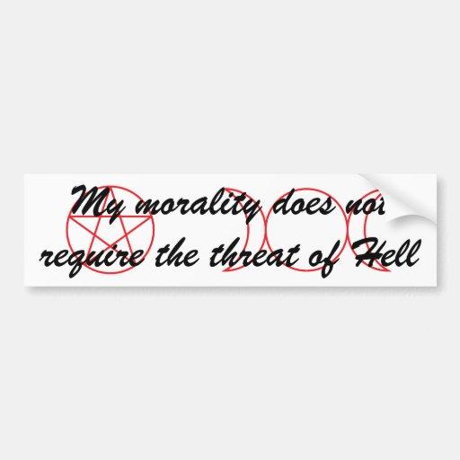 Wiccan Morality Bumper Sticker