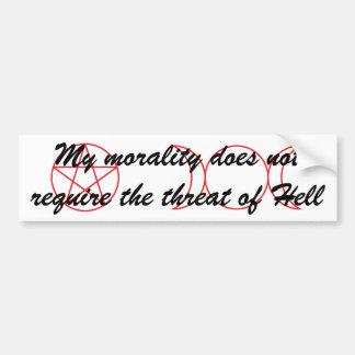 Wiccan Morality Car Bumper Sticker