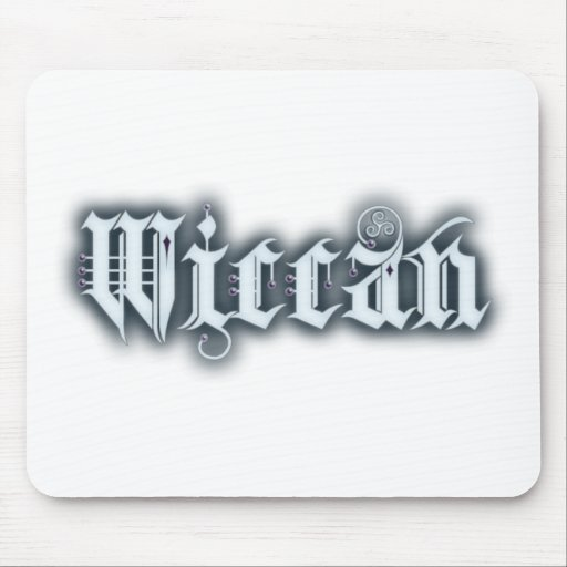 Wiccan Mouse Pad