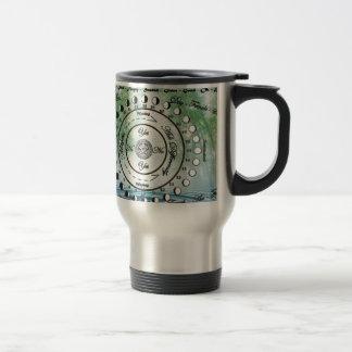 Wiccan Pagan Pendulum Chart 15 Oz Stainless Steel Travel Mug