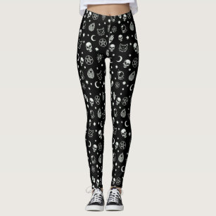 2757223b94a Wiccan Pattern Leggings