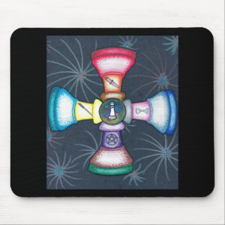 Wiccan Pawns Mouse Pad