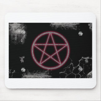 Wiccan Penta Mouse Pad
