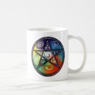 Wiccan Pentagram Coffee Mug