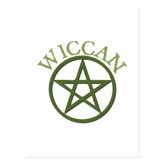 Wiccan Postcard