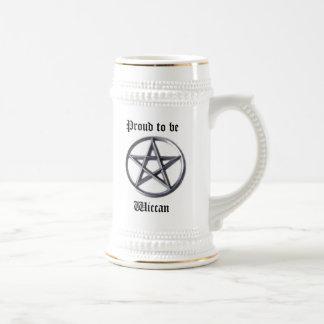 Wiccan Pride Beer Stein