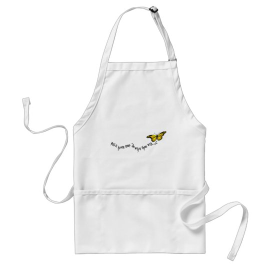 Wiccan rede adult apron
