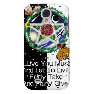 Wiccan Rede Galaxy S4 Cases