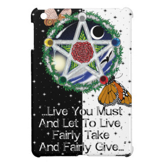 Wiccan Rede iPad Cases