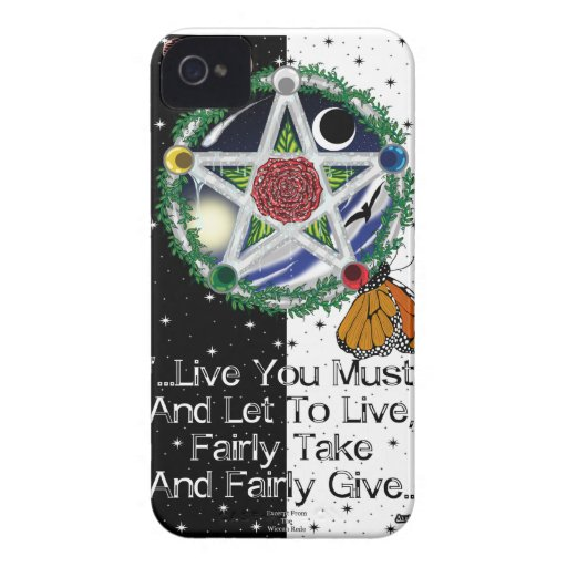Wiccan Rede iPhone4/4S Cases Case-Mate iPhone 4 Cover