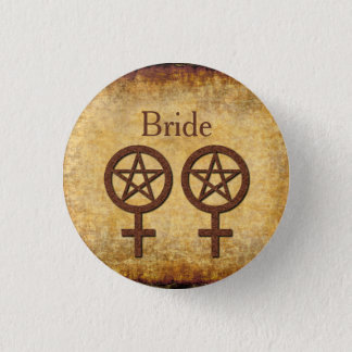 Wiccan Rustic Pin for a Lesbian Handfasting