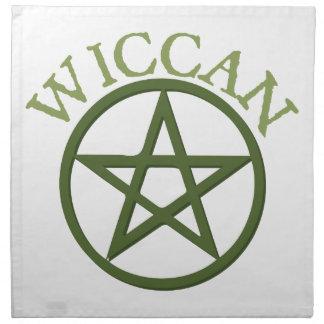 Wiccan Servilletas