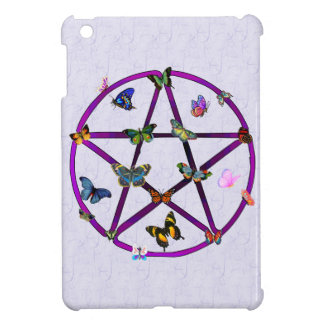 Wiccan Star and Butterflies iPad Mini Cases