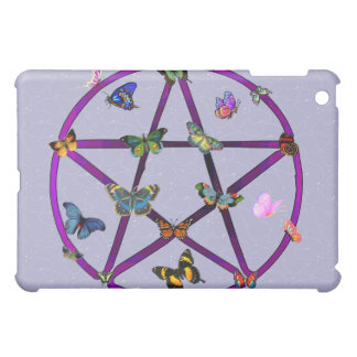 Wiccan Star and Butterflies Case For The iPad Mini
