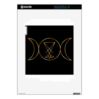 Wiccan symbol, Triple Goddess Decals For The iPad 2