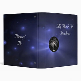 Wiccan Tree Book Of Shadows 3 Ring Binder