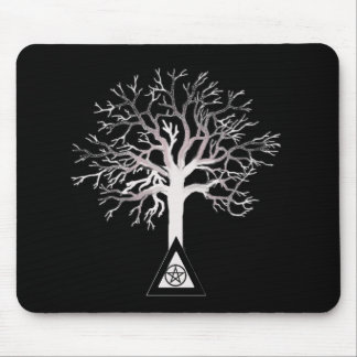 Wiccan Tree Mouse Pad