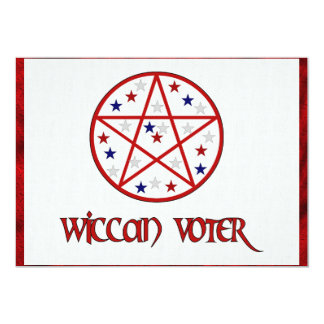 WICCAN VOTER CARD