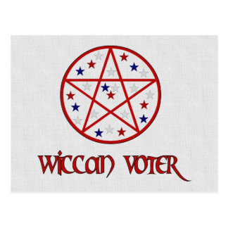 WICCAN VOTER POSTCARD