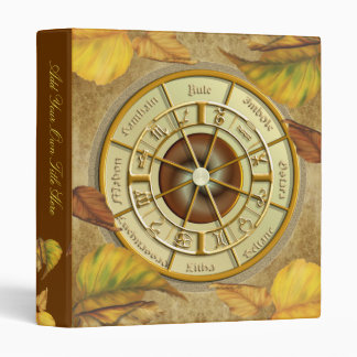 "Wiccan Wheel of the Year 1"" Avery Binder"