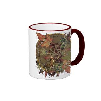 Wiccan Wheel With Pentacle Mug