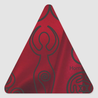 Wiccan, wicca, pagan, triquetra, pentáculo, triple