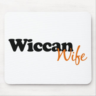 Wiccan Wife Mouse Pad
