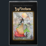 """Wiccan Witch Portfolio Book by Molly Harrison Calendar<br><div class=""""desc"""">This is NOT a calendar!! It is a book of pictures! I have decided, after some requests, to offer a book of pictures! There are 13 witch images in this portfolio. These are some of my most popular and personal favorite artworks that I have done over the years. Please find...</div>"""