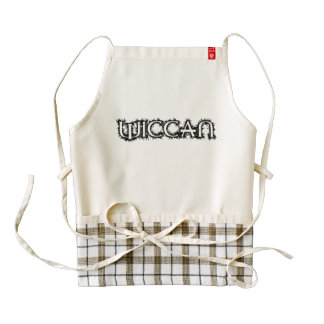 Wiccan Zazzle HEART Apron