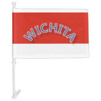 Wichita Car Flag