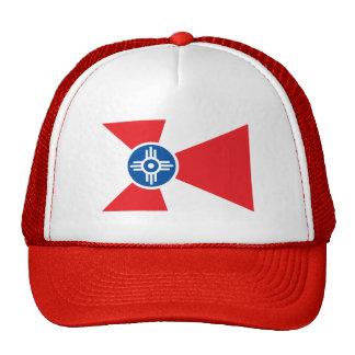 Wichita city flag mesh hat
